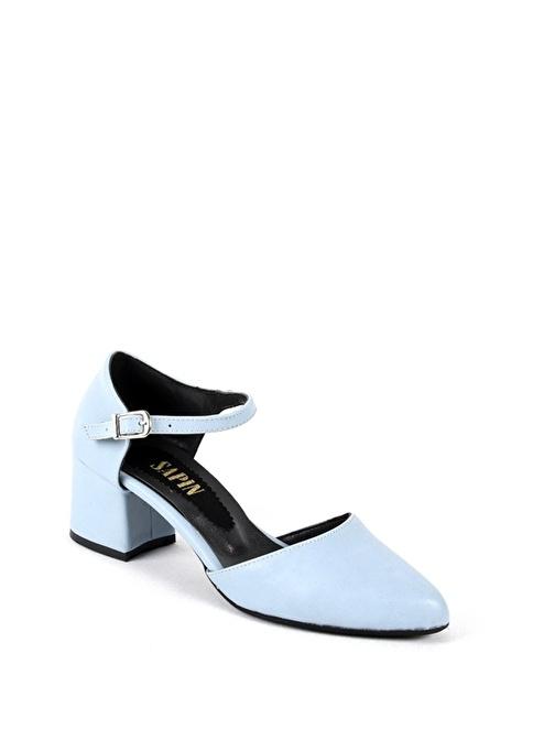 Sapin 26040 Mavi Kadın Topuklu Ayakkabı